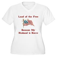 Brave Husband T-Shirt