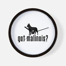 got malinois? Wall Clock