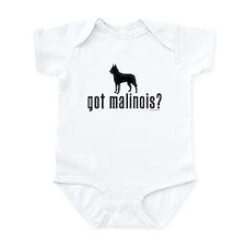 got malinois? Infant Bodysuit