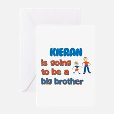 Kieran - Going to be a Big Br Greeting Card
