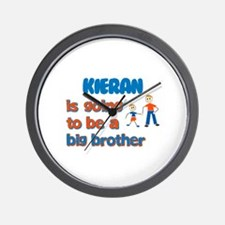 Kieran - Going to be a Big Br Wall Clock