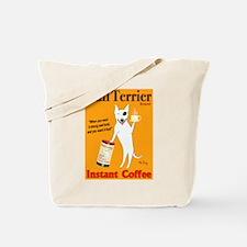 Bull Terrier Coffee Tote Bag