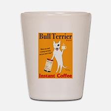 Bull Terrier Coffee Shot Glass