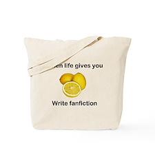 Write Fanfiction Tote Bag