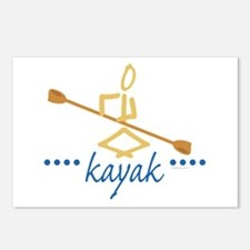 Kayak Postcards (Package of 8)