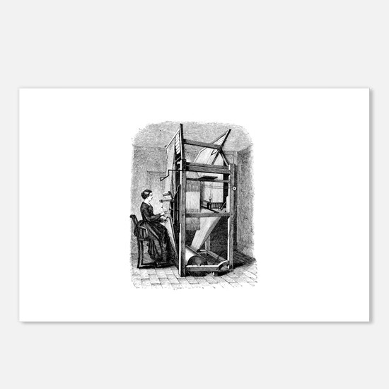 Weaver - Woman at Weaving Loo Postcards (Package o
