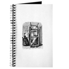 Weaver - Woman at Weaving Loo Journal