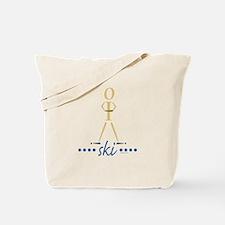 Waterskier Tote Bag