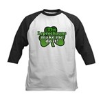 Leprechauns Make Me Do It Shamrock Kids Baseball J