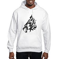 Wolf Black Design #48 Hoodie