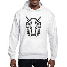 Wolf Black Design #45 Hoodie