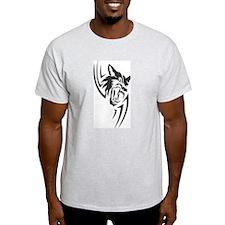 Wolf Black Design #40 T-Shirt