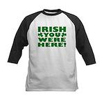 Irish You Were Here Shamrock Kids Baseball Jersey