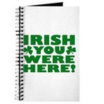 Irish You Were Here Shamrock Journal