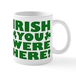 Irish You Were Here Shamrock Mug