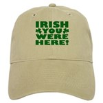 Irish You Were Here Shamrock Cap