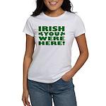 Irish You Were Here Shamrock Women's T-Shirt
