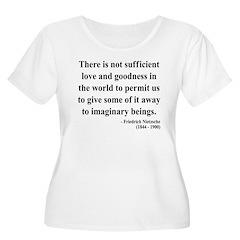 Nietzsche 28 Women's Plus Size Scoop Neck T-Shirt