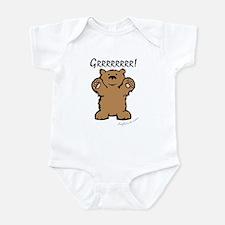 Grrrrrrrr! (Bear) Infant Creeper