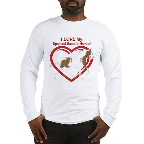 I LOVE my SSH Flat Shod Long Sleeve T-Shirt