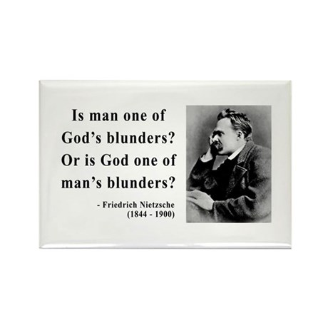 Nietzsche 11 Rectangle Magnet (10 pack)