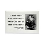 Nietzsche 11 Rectangle Magnet (100 pack)