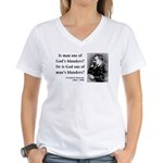 Nietzsche 11 Women's V-Neck T-Shirt