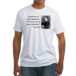 Nietzsche 11 Fitted T-Shirt