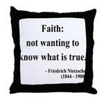 Nietzsche 10 Throw Pillow