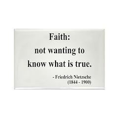 Nietzsche 10 Rectangle Magnet (100 pack)