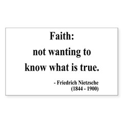 Nietzsche 10 Rectangle Decal