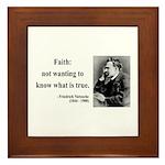 Nietzsche 10 Framed Tile