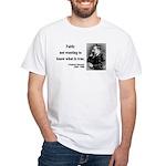 Nietzsche 10 White T-Shirt