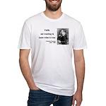 Nietzsche 10 Fitted T-Shirt