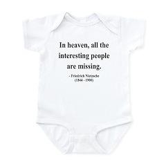 Nietzsche 8 Infant Bodysuit