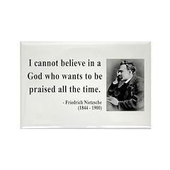 Nietzsche 5 Rectangle Magnet