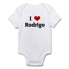 I Love Rodrigo Infant Bodysuit