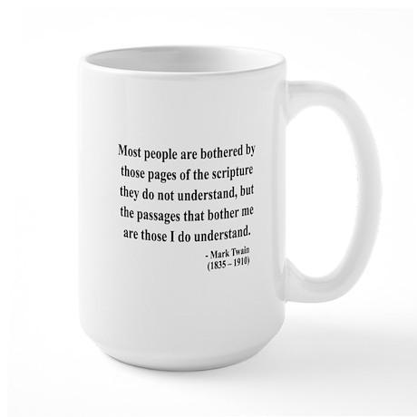 Mark Twain 21 Large Mug