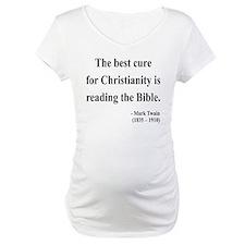 Mark Twain Text 20 Shirt