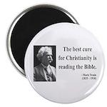Mark Twain 20 Magnet
