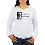 Mark Twain 20 Women's Long Sleeve T-Shirt