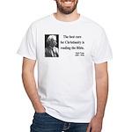 Mark Twain 20 White T-Shirt