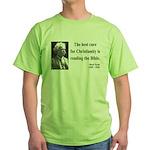Mark Twain 20 Green T-Shirt