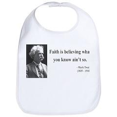 Mark Twain 19 Bib
