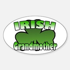 Irish Grandmother Oval Decal