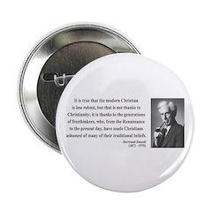 """Bertrand Russell 14 2.25"""" Button (10 pack)"""