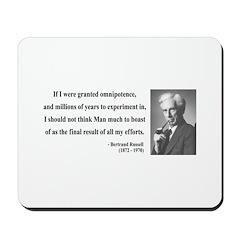 Bertrand Russell 11 Mousepad