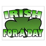 Irish For a Day Small Poster
