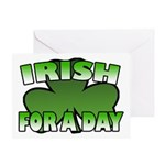 Irish For a Day Greeting Card