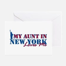 My Aunt in NY Greeting Card